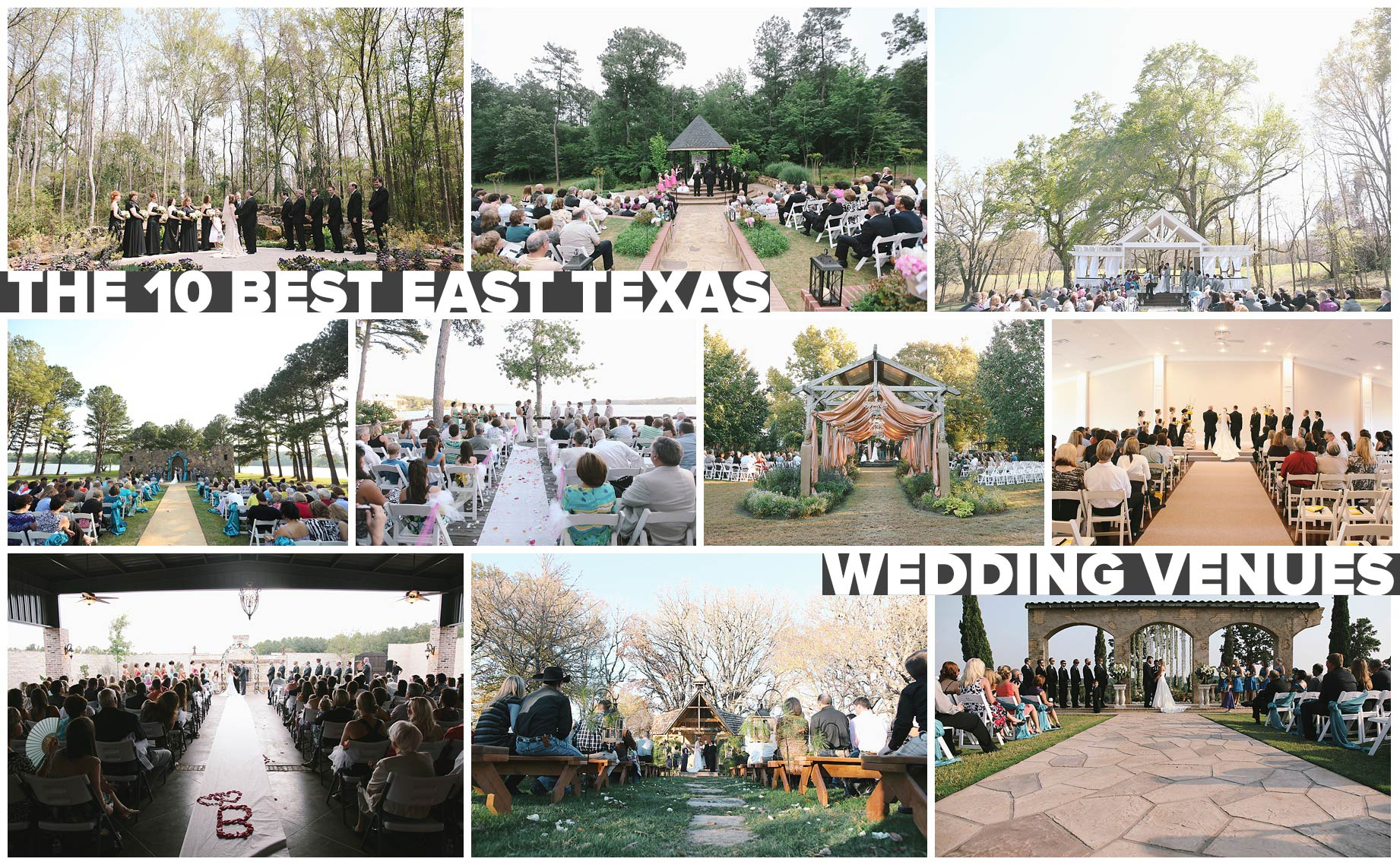 10 Amazing Places to Get Married In East Texas | AlexM